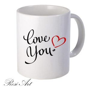 "Чаша ""Love you"""