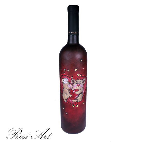 """Бутилка вино """"Мечета"""""""
