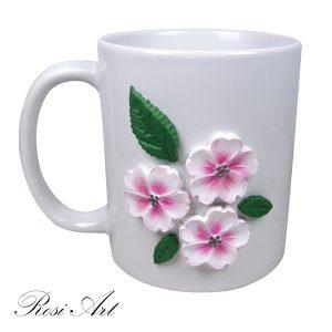 """Чаша """"Пролетни цветенца"""""""