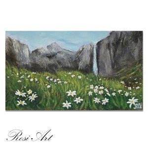 """Картина """"Свежест в планината"""""""