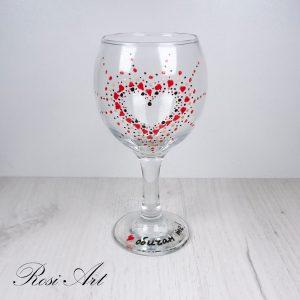 """Чаша за вино """"Сърце"""""""