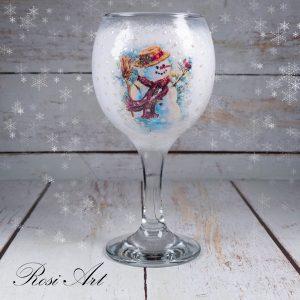 """Чаша """"Снежен човек"""""""