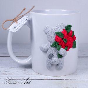 """Чаша """"Мече с рози"""""""