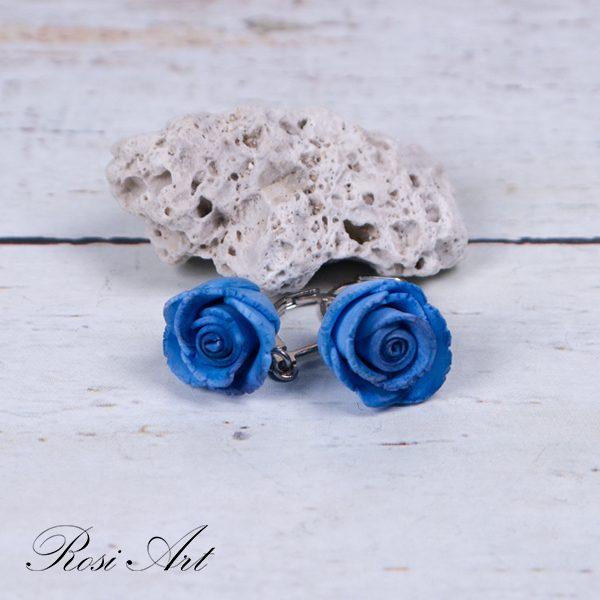 """Обеци """"Сини рози"""""""