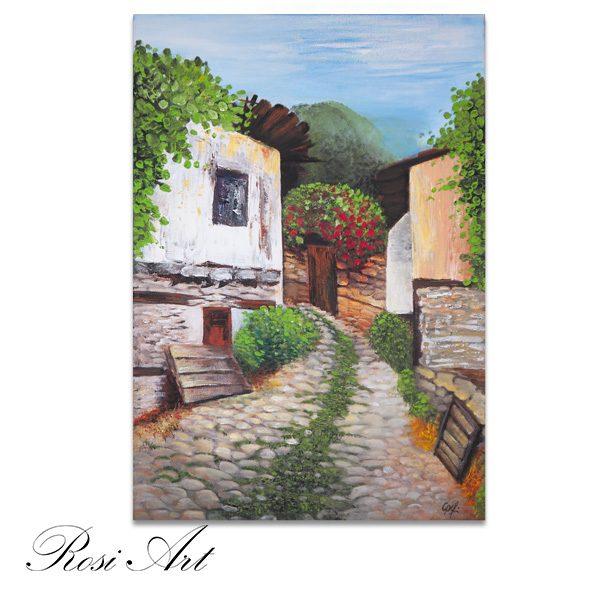 """Картина """"Старата улица"""""""