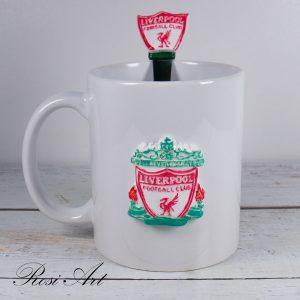 """Комплект чаша и лъжичка """"Ливърпул"""""""