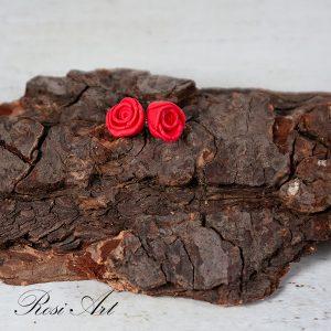 """Обеци """"Червени рози"""""""