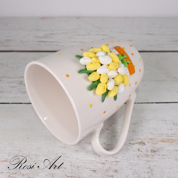 "Чаша ""жълти лалета"""
