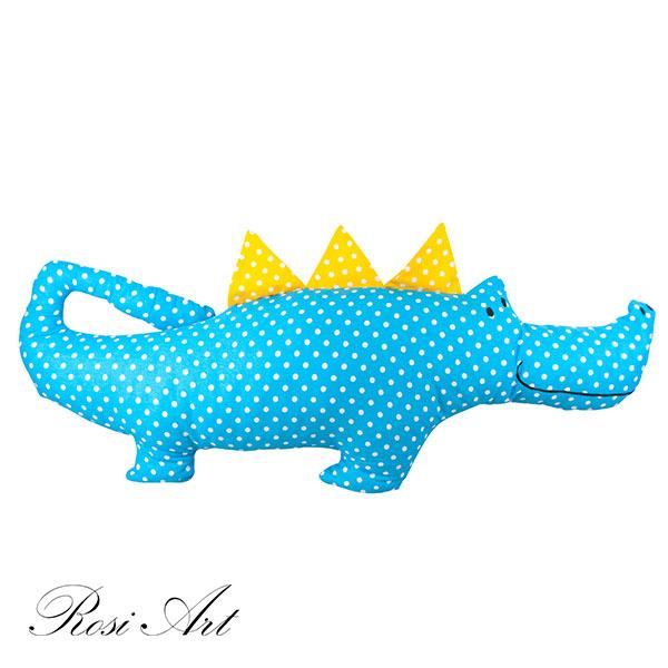 възглавничка-крокодил