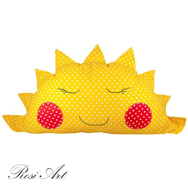 възглавничка-слънце