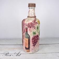 декорирана-бутилка