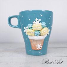 Чаша снежен къпкейк