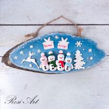 Декоративно пано Весела Коледа