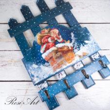 Къщичка за ключове Дядо Коледа