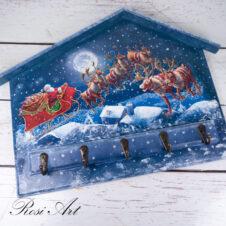 Къщичка за ключове Коледна нощ