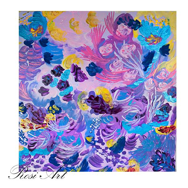 Картина Лилава феерия