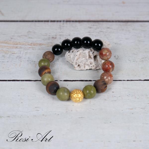 Гривна естествени камъни