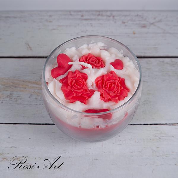 Свещ рози