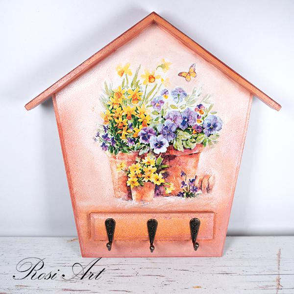Къщичка за ключове цветя