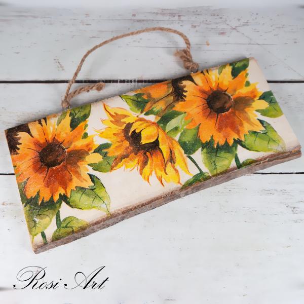 Декоративно пано слънчогледи