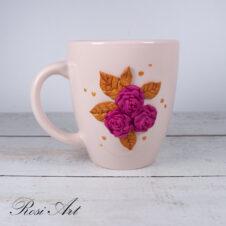 Чаша букет от рози